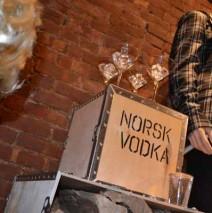 Норвежская водка.